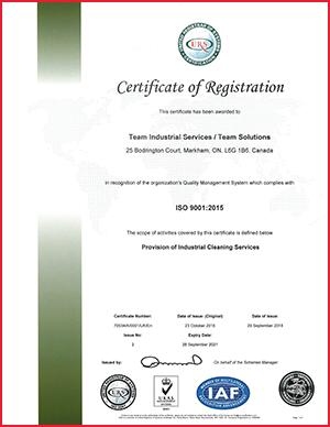 Markham_Certificate