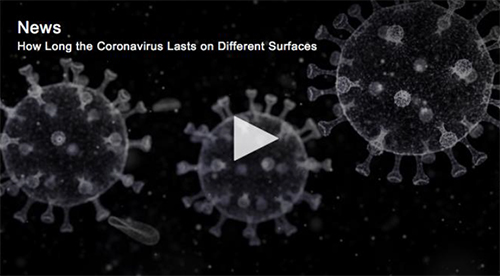 Global News Graphic Coronavirus lasts on different surfaces