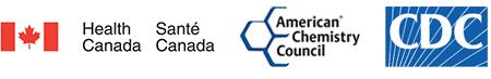 Web Health Canada, CDC, American Chemistry Councilil,